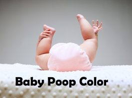 baby poop color meaning and types